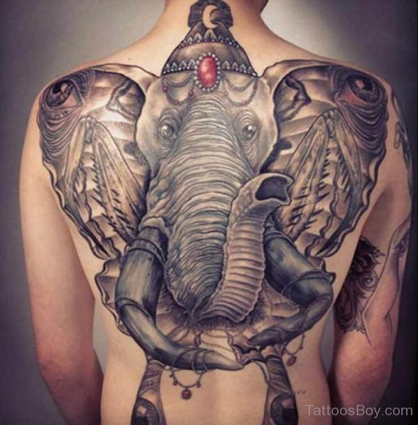 50 asian elephant tattoos collection for Full head tattoo