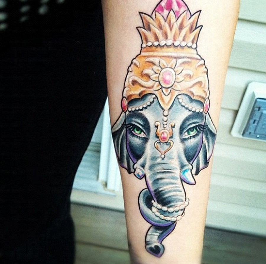40+ Indian Elephant Tattoos And Ideas