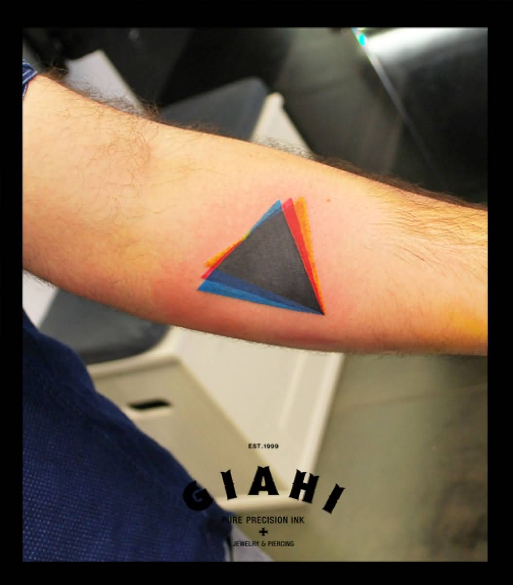 67 Best Triangle Tattoos Ideas