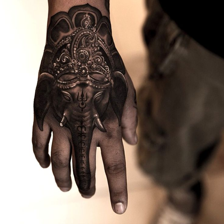 32 elephant tattoos on hands. Black Bedroom Furniture Sets. Home Design Ideas
