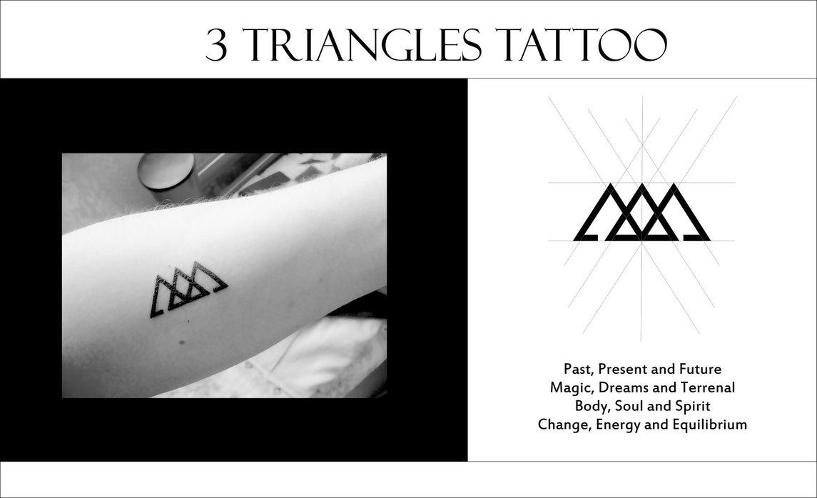 20 triangle tattoo design ideas. Black Bedroom Furniture Sets. Home Design Ideas