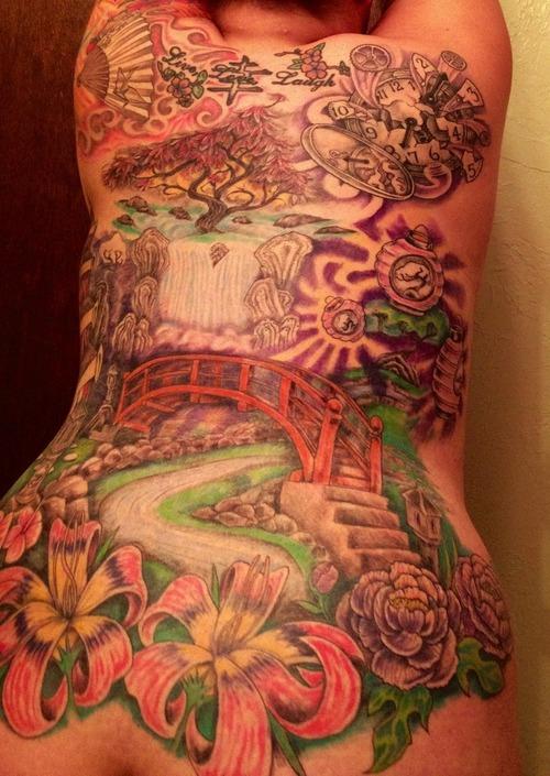 11+ Unique Zen Garden Tattoos