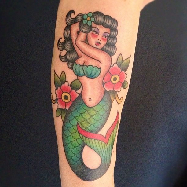 20 unique sailor mermaid tattoos