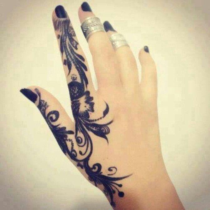 Tattoo Designs Hand Girl