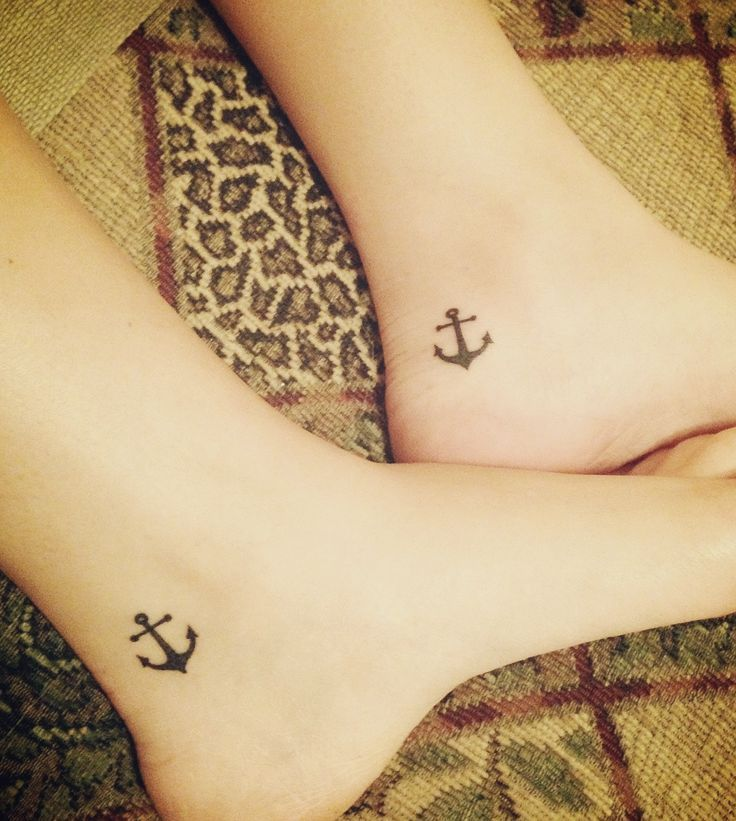 50 Anchor Ankle Tattoos