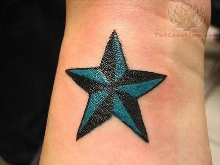 25 wrist star tattoos for men