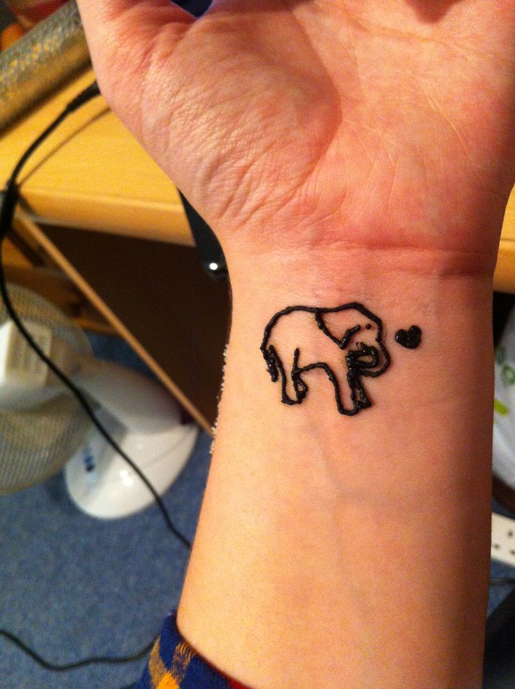 45 Henna Elephant Tattoos