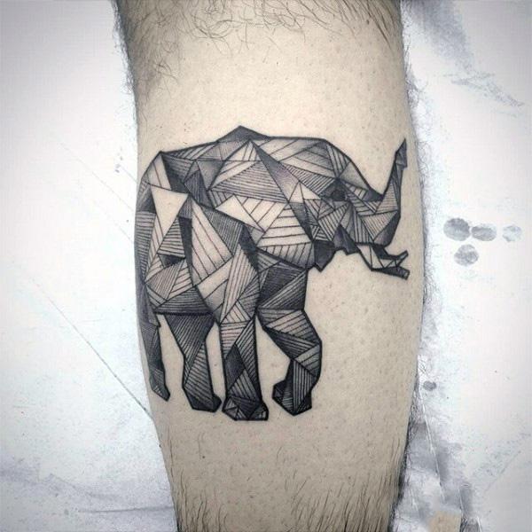 45 nice elephant tattoos ideas. Black Bedroom Furniture Sets. Home Design Ideas
