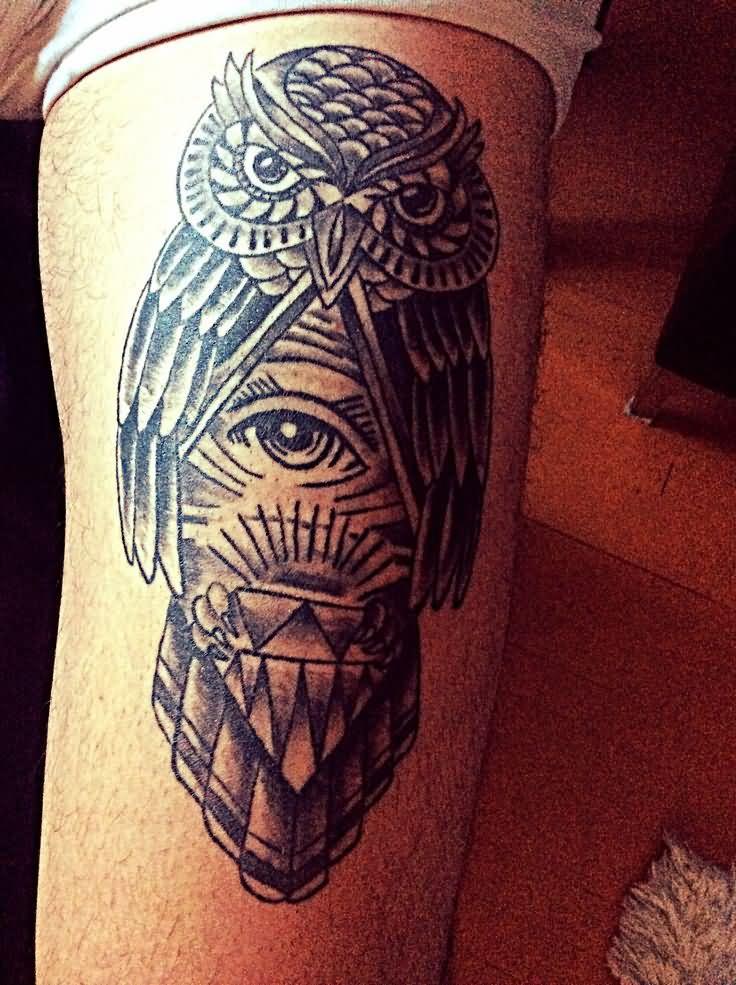 52 upside down triangle tattoos