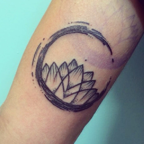 100+ [ Zen Circle Tattoo Designs Free ]