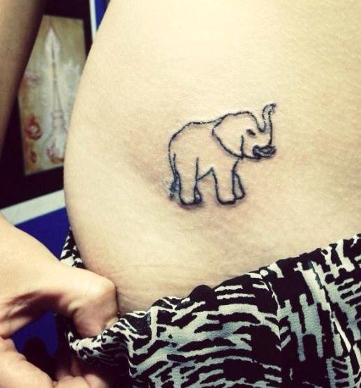 Elephant Stencil Trunk Up 38+ Trunk Up Elephant ...