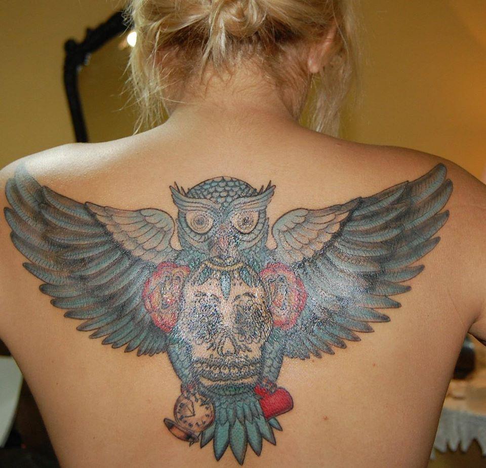 56 best flying owl tattoos. Black Bedroom Furniture Sets. Home Design Ideas