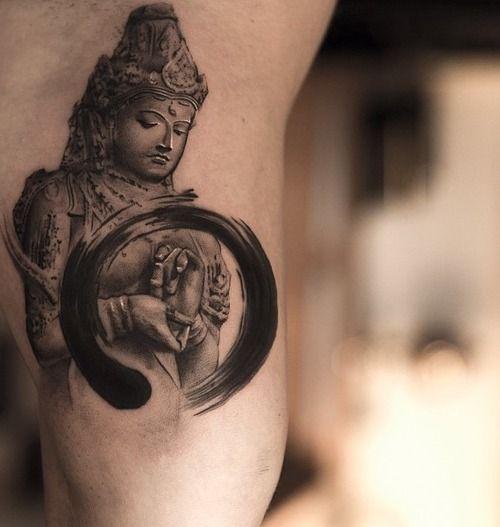 22+ Zen Circle Tattoos On Shoulder