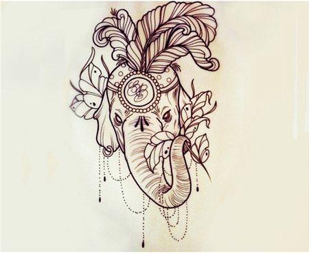 40 elephant tattoo designs and ideas. Black Bedroom Furniture Sets. Home Design Ideas