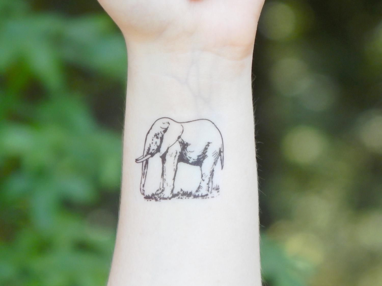 46 Elephant Tattoos On Wrists