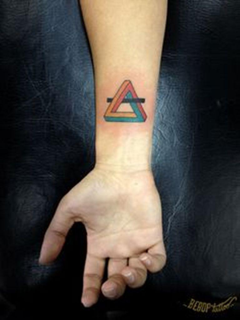 67 best triangle tattoos ideas. Black Bedroom Furniture Sets. Home Design Ideas