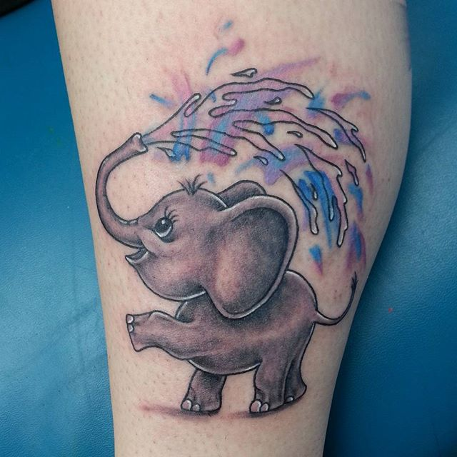 50+ Baby Elephant Tattoos Ideas