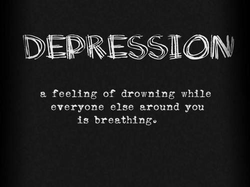 Image of: Self Harm Depression Feeling Of Drowning While Everyone Else Around You Is Breathing Askideascom 65 Best Depression Quotes And Sayings
