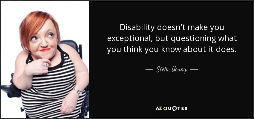 What disability would you think i have?