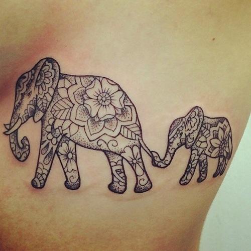 50 Baby Elephant Tattoos Ideas