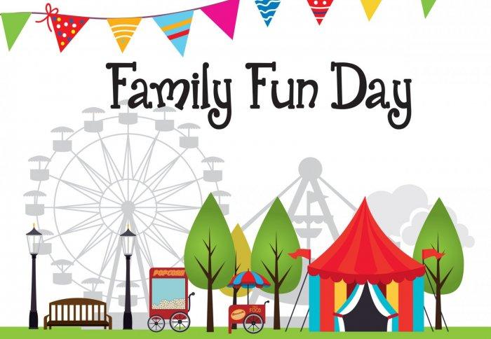 Family Fun Day Illustration