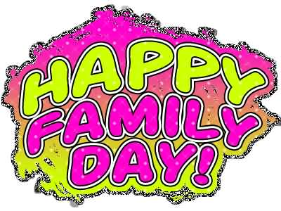 63 amazing family day greeting pictures and photos happy family day neon text picture m4hsunfo