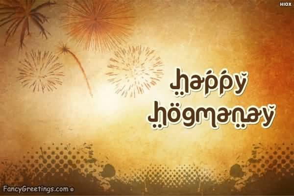 Happy hogmanay greeting card m4hsunfo