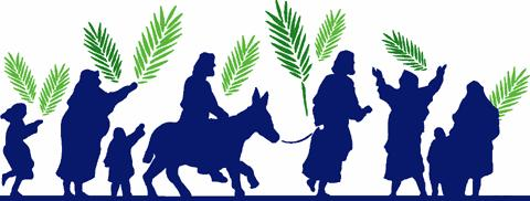 Happy Palm Sunday Header Image