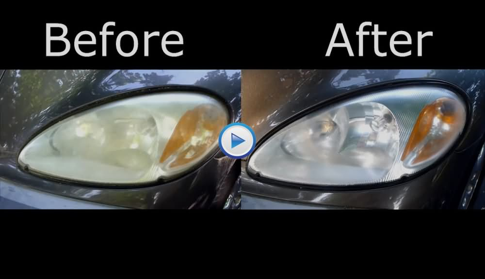 DIY Headlights Restoration With Tooth Paste