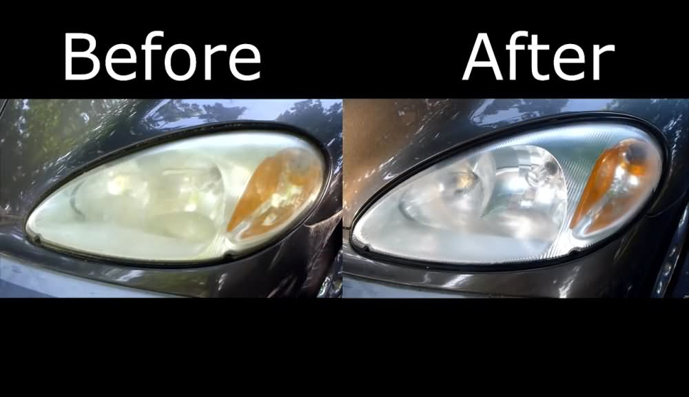 Headlight Restoration using Toothpaste (2)