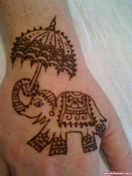 Henna Elephant Tattoo Designs: 32+ Elephant Tattoos On Hands