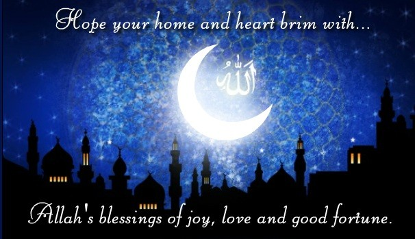 Hope Your Home And Heart Brim With Allah's Blessings Of Joy, Love And Good Fortune Happy harram