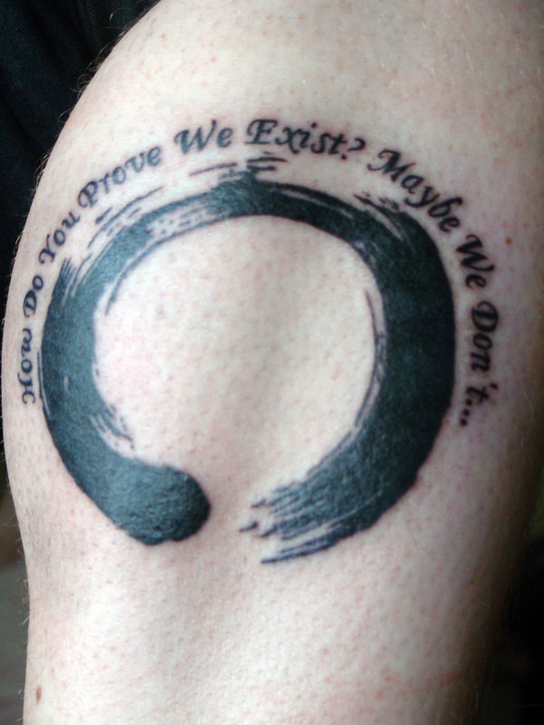 Zen enso tattoo