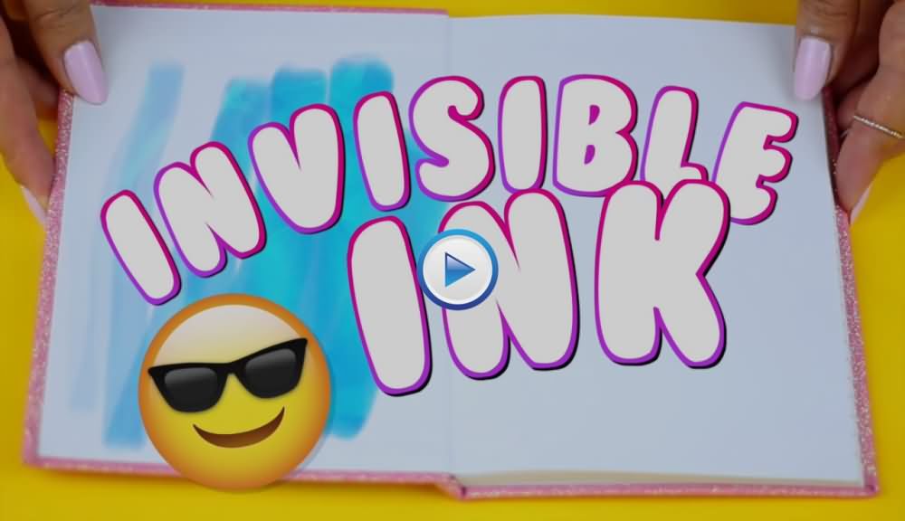 How To Create Secret Invisible Ink Marker?