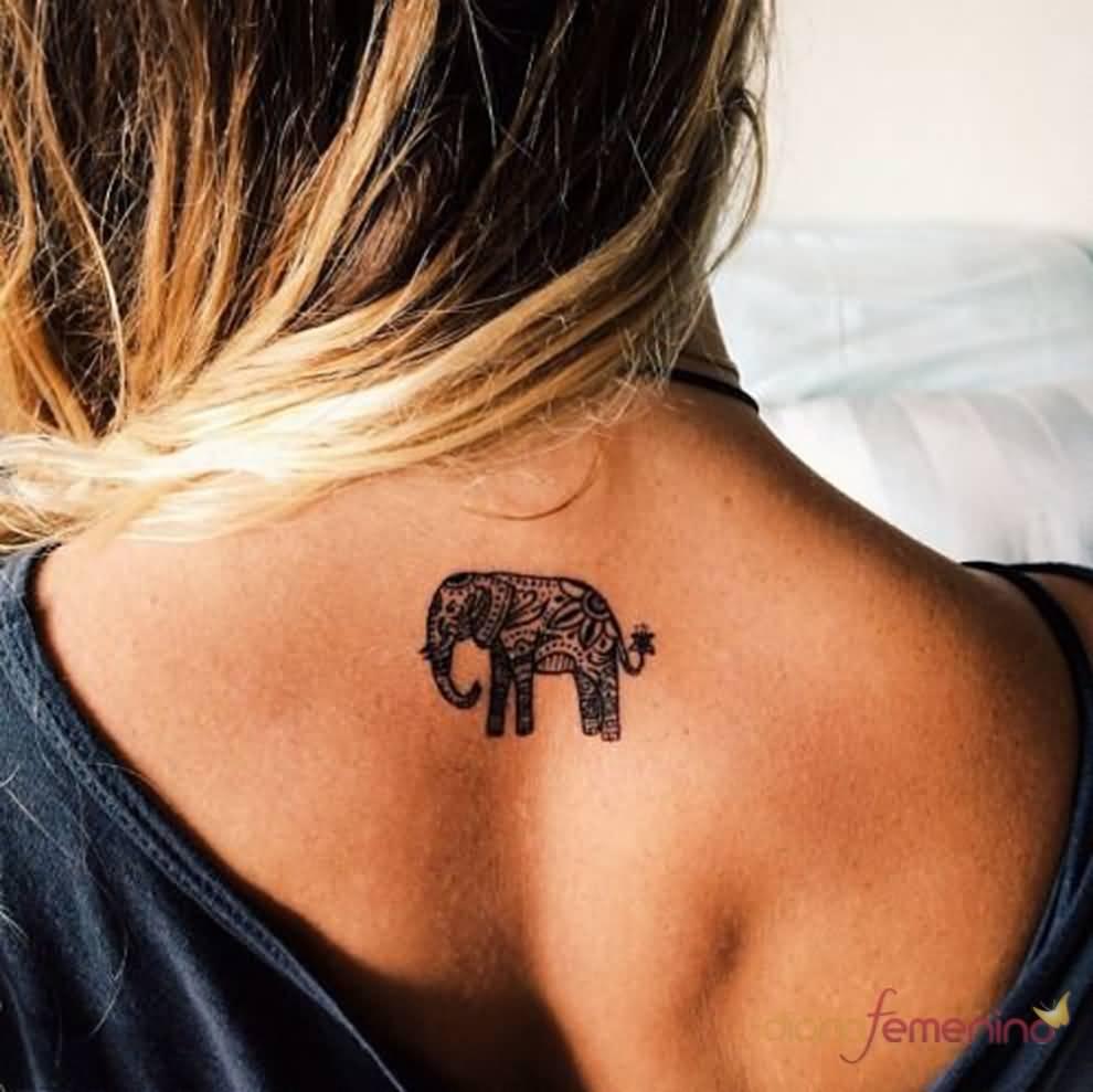 50 Small Elephant Tattoos