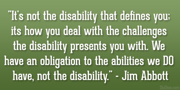 Disability Quotes Impressive 64 Top Quotes And Sayings About Disability