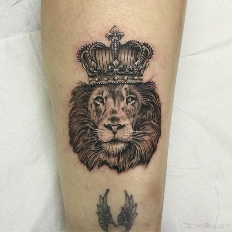 Lion With Crown Wallpaper Lion With Crown Tattoo Design: 60+ Latest Crown Tattoos