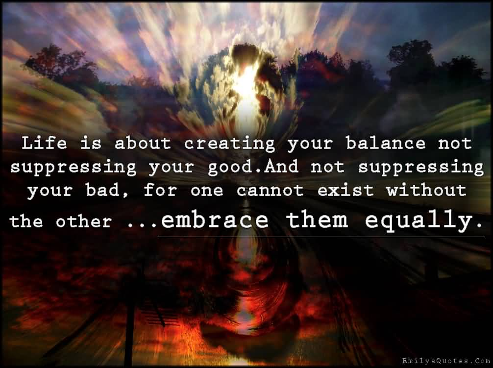 63 Top Balance Quotes And Sayings