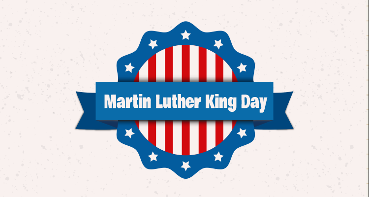 Martin Luther King Day Banner