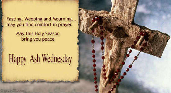May this holy season bring you peace happy ash wednesday - Wallpaper for lent season ...