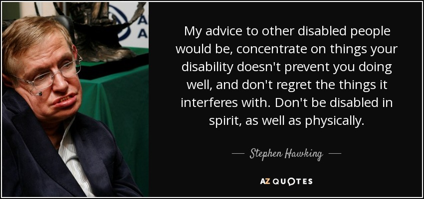Quotes About Disabilities Glamorous 64 Top Quotes And Sayings About Disability