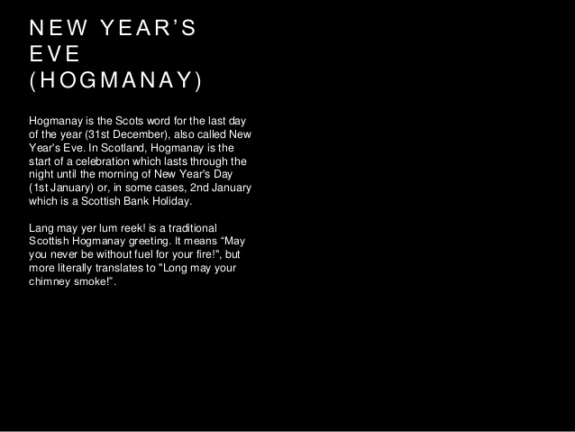 traditional scottish new year greeting new year s eve hogmanay wishes