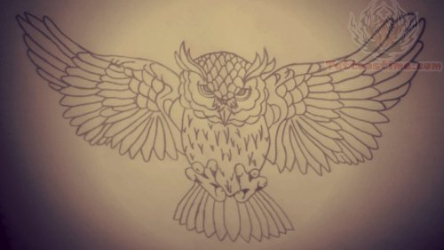 28+ Flying Owl Tattoo Designs