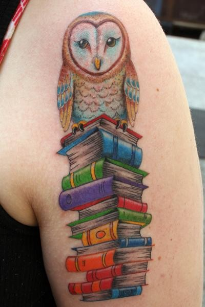 50 cute baby owl tattoos for Baby s first tattoo book