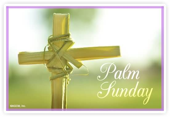 Palm Sunday Cross Image