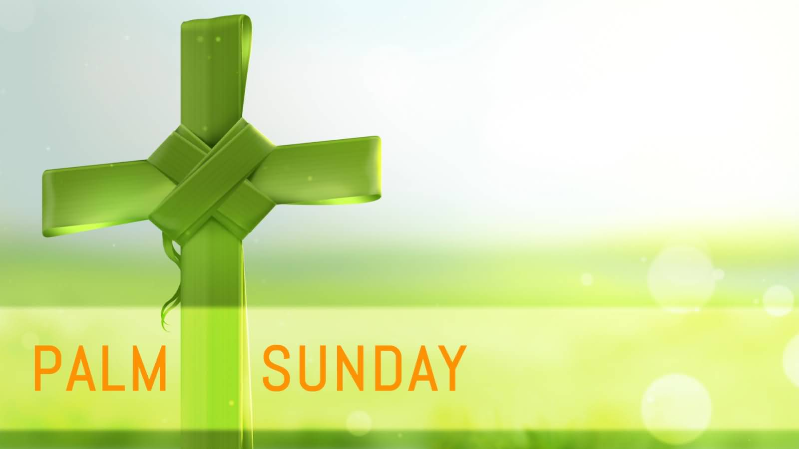 Palm Sunday Cross Picture