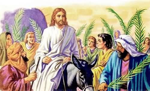 Palm Sunday Jesus Christ Picture