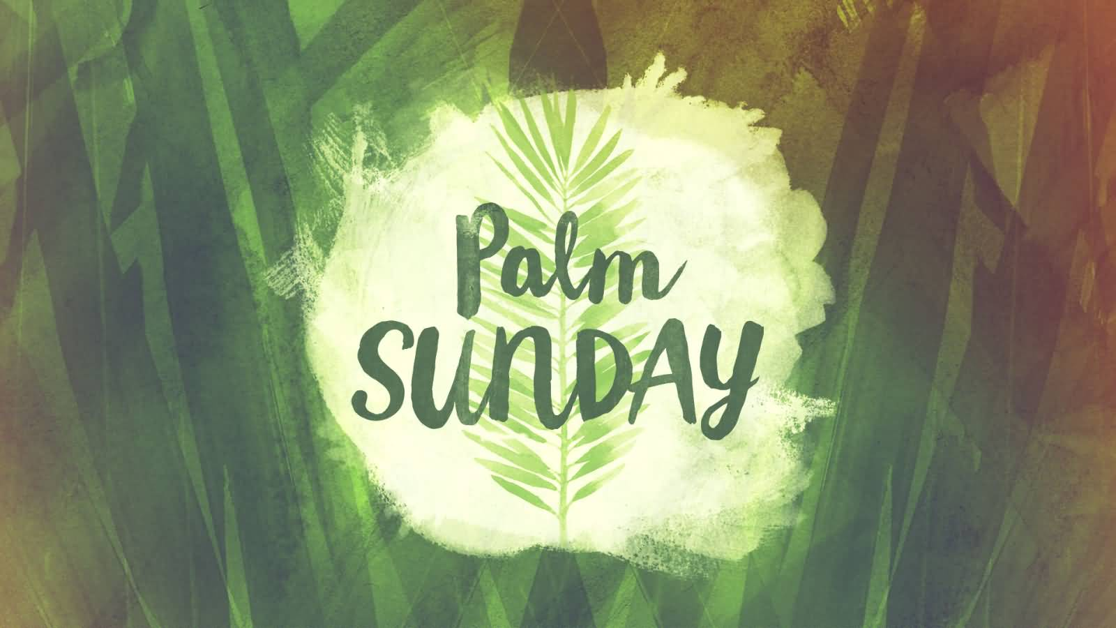 Palm Sunday Wishes Picture For Facebook