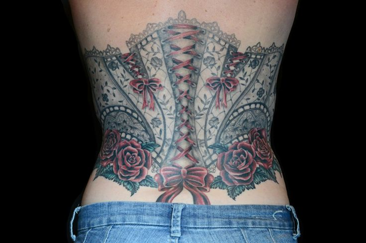 40 corset tattoos for girls. Black Bedroom Furniture Sets. Home Design Ideas