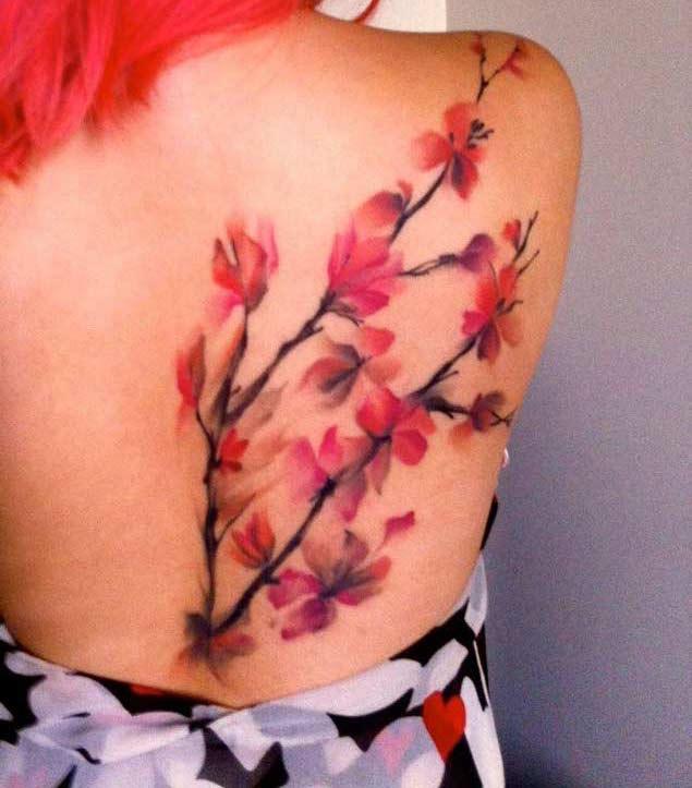 Cherry Blossom Tree Tattoo On Wrist: 55+ Latest Cherry Blossom Tattoos Ideas